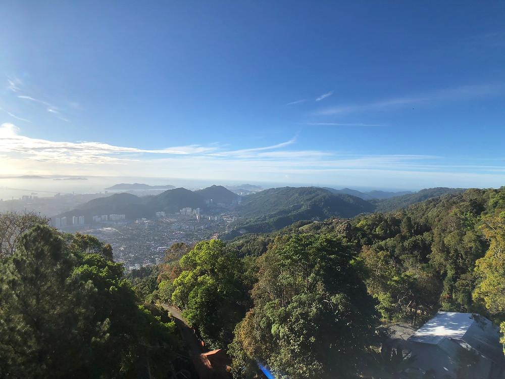 View of Penang Island from Penang Hill