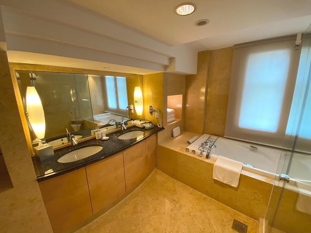 View of the Loft Suite's bathroom