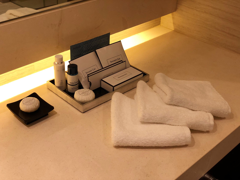 Pacific Skyline Suite - Toiletries from The White Company and em.brace