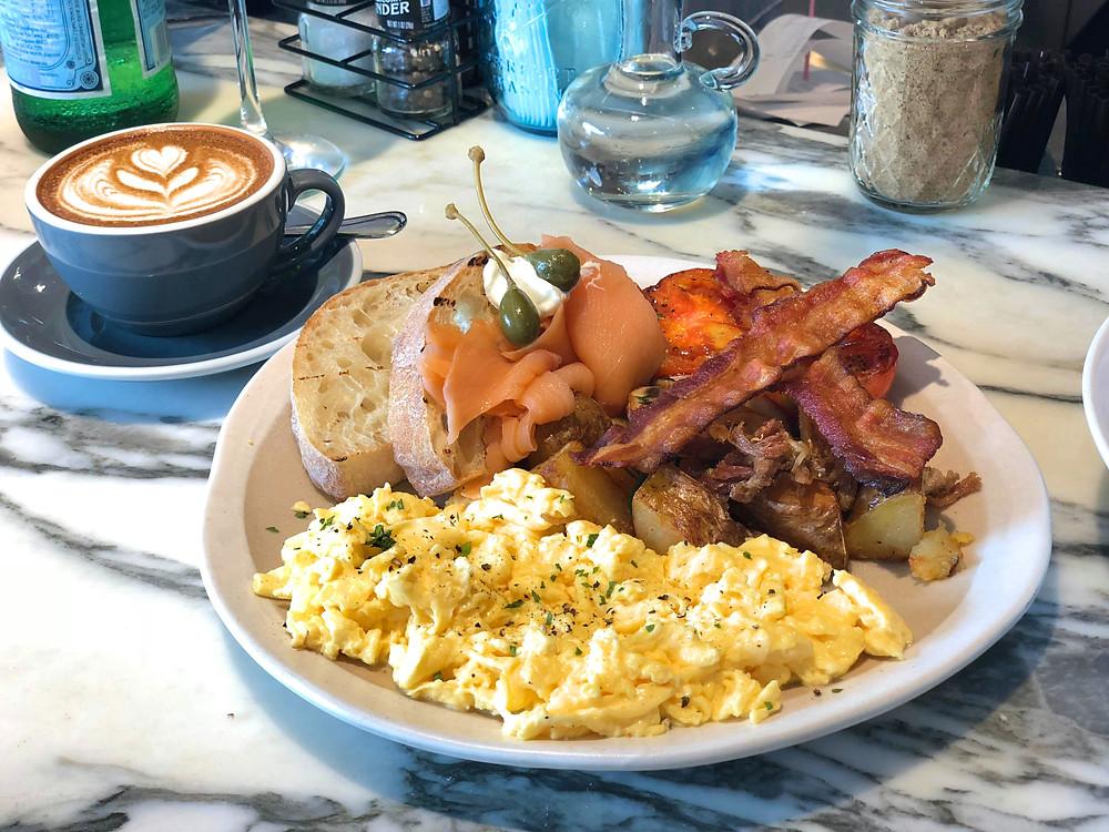 The famous Roast Breakfast