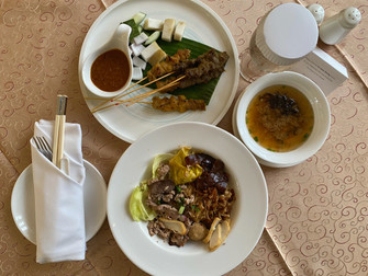Room Service Review: The Fullerton Hotel