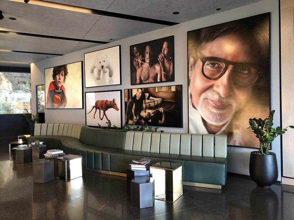 The Fantauzzo Brisbane - Strong art scene at the lobby