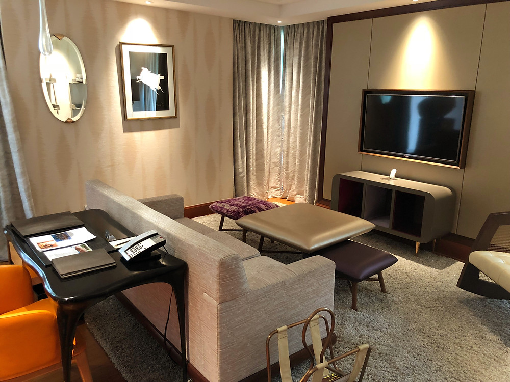 Prestige Suite - Another view of the living room