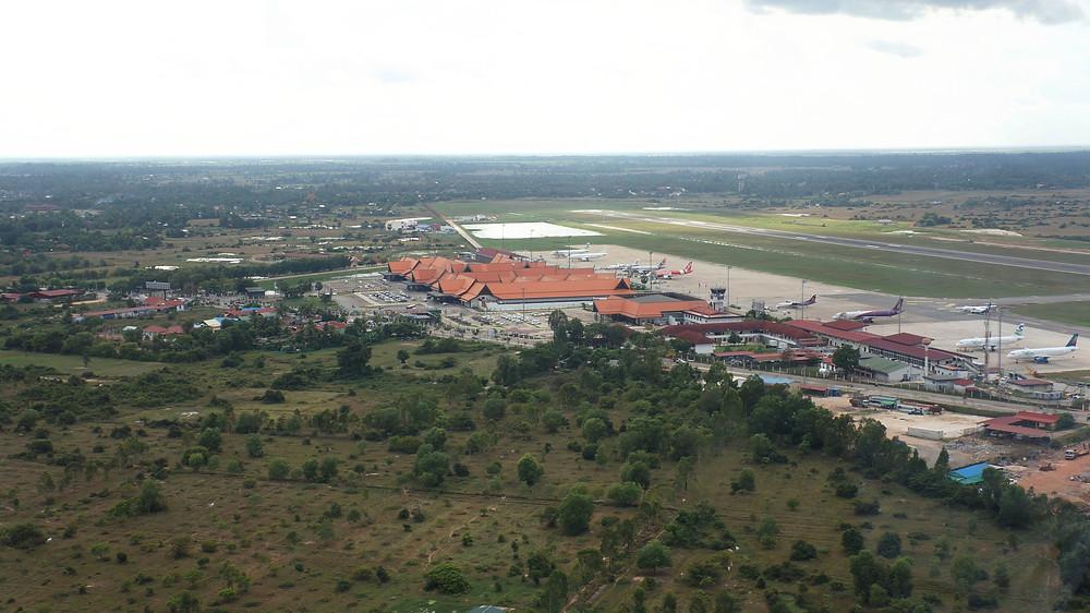 Looking at Siem Reap Airport