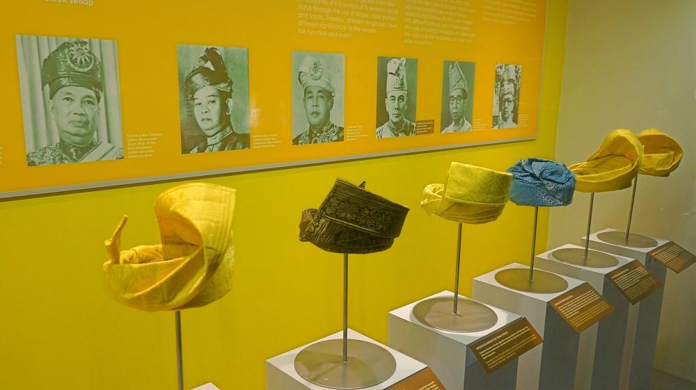 Information about Malaysia's Tunkus at Muzium Negara