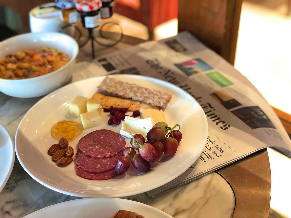 Our very own cheese platter courtesy of Sofitel Singapore Sentosa Resort & Spa's Kwee Zeen.