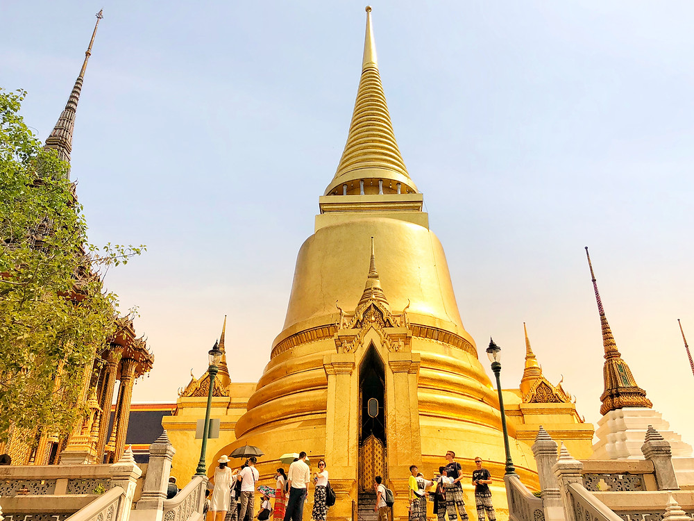 View of the Temple of the Emerald Buddha