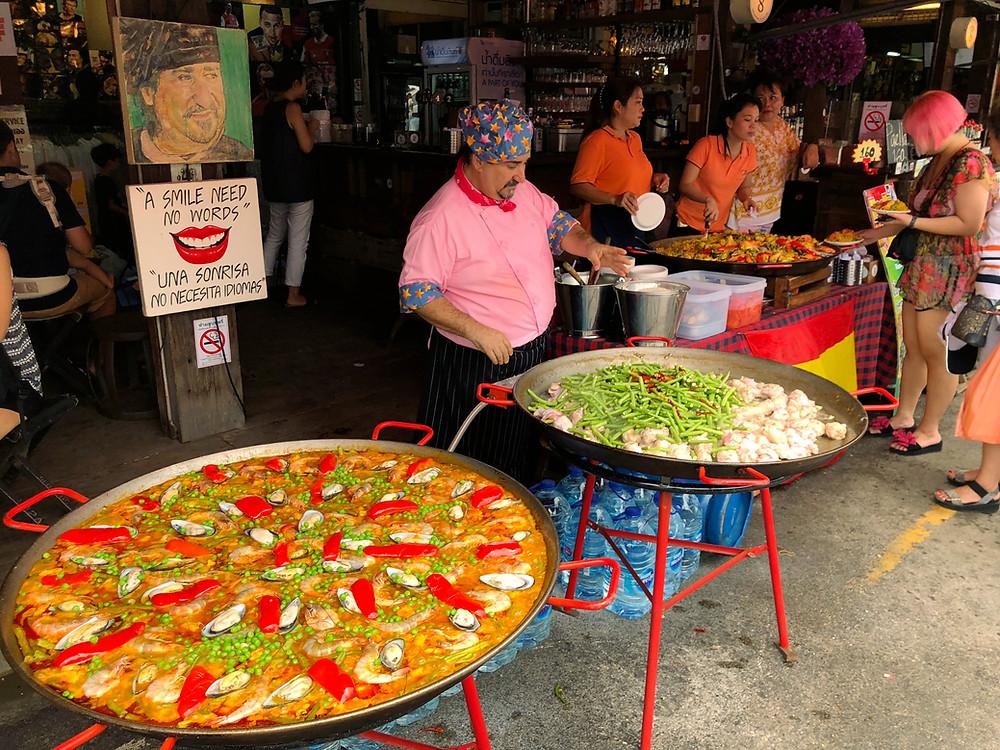 Paella at Chatuchak