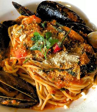 Spaghetti Don Giovanni at Tiamo