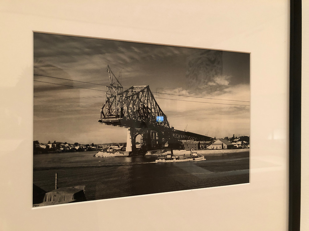 A picture of Story Bridge under construction