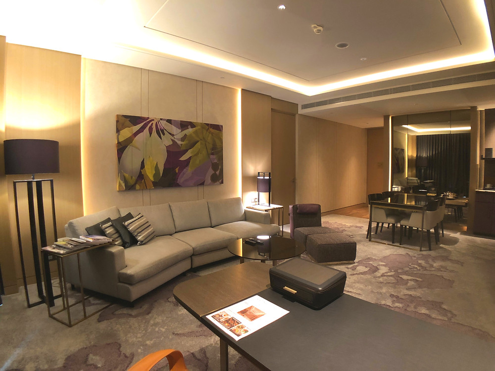 Prestige Suite - View of the living room