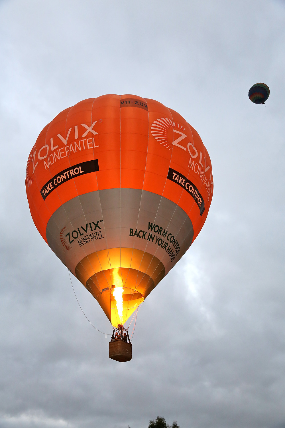 Hot Air Ballooning with Picture This Ballooning