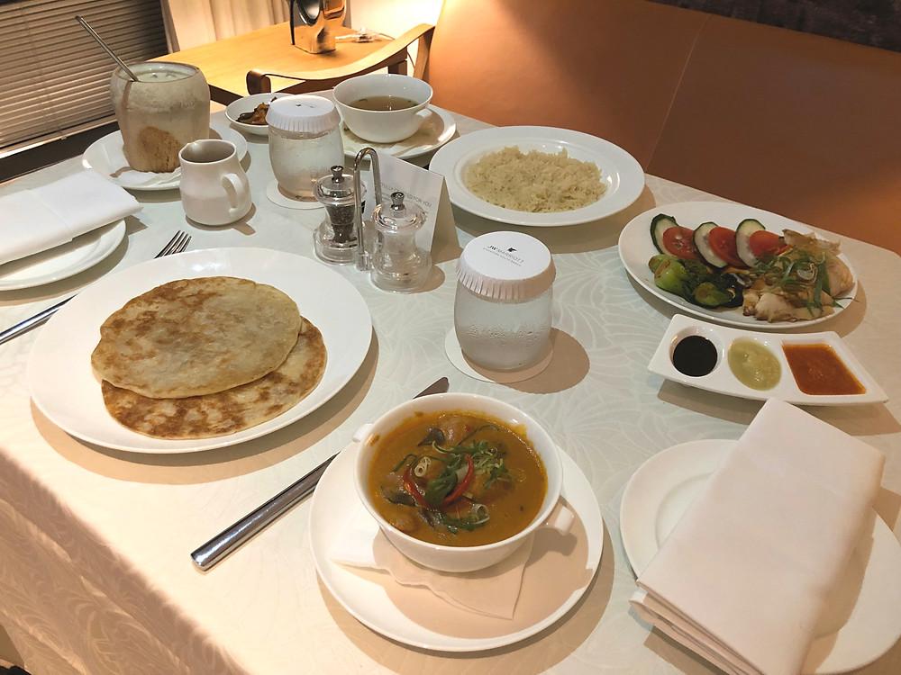 JW Marriott Hotel Singapore South Beach Room Service