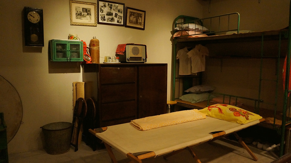 A view of a much simpler lifestyle back in the old days seen at Hong Kong Museum of History