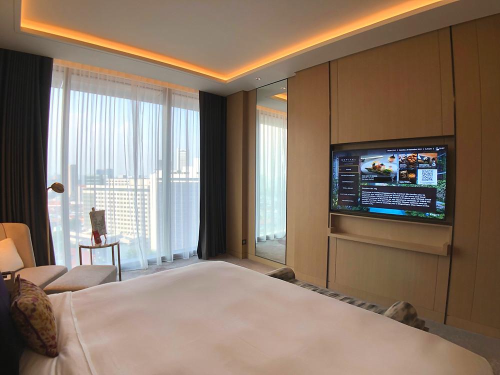 Prestige Suite - View of the bedroom