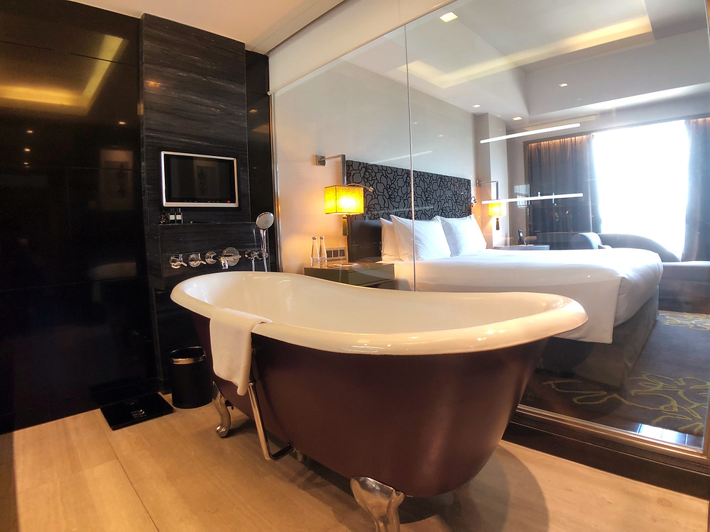 Prestige Suite - View from the bathroom