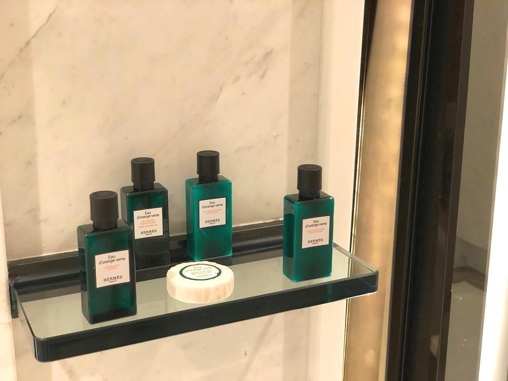 Prestige Suite - Hermès toiletries for guests of the Prestige Suite