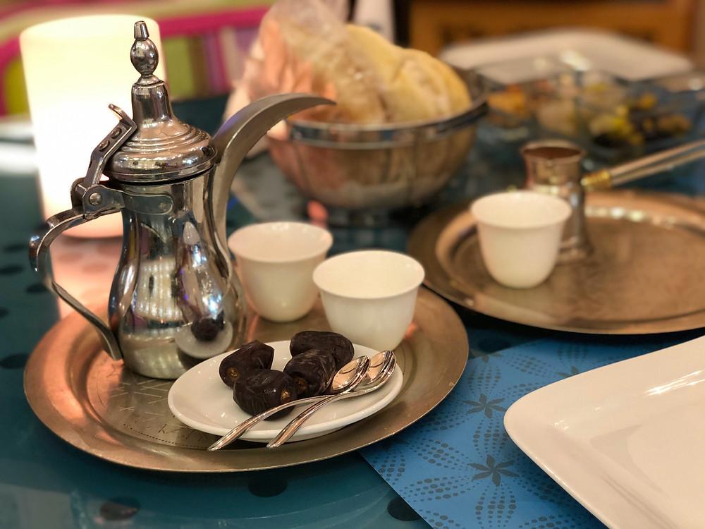 Arabic and Lebanese coffee at Café Blanc