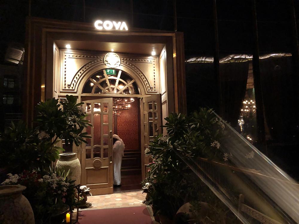 Coya at Four Seasons Resort in Dubai