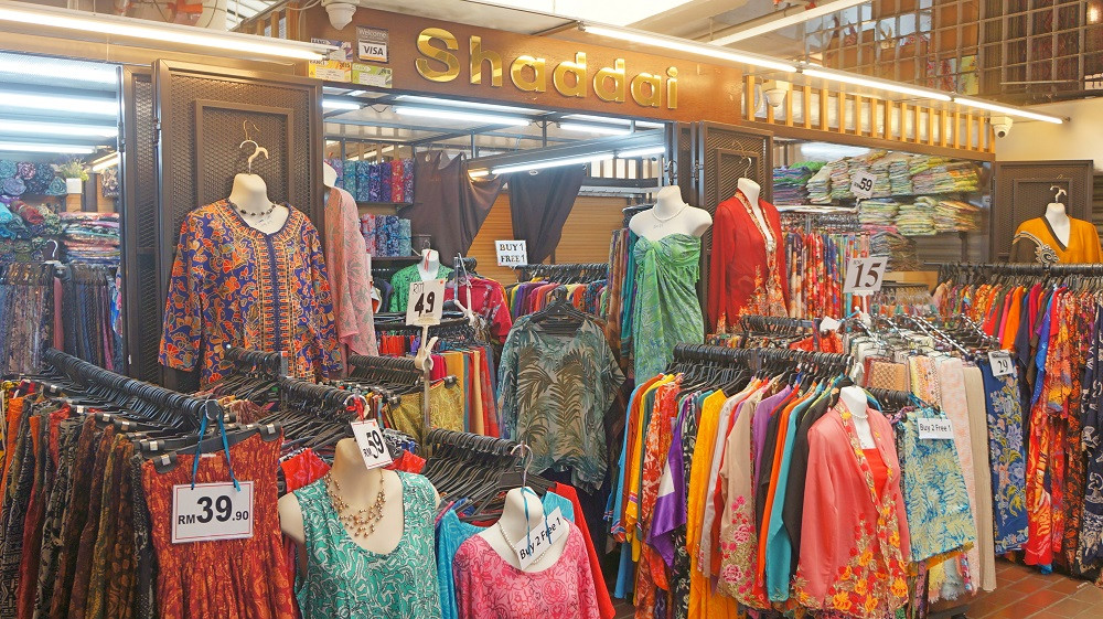 Affordable clothes for sale at Central Market