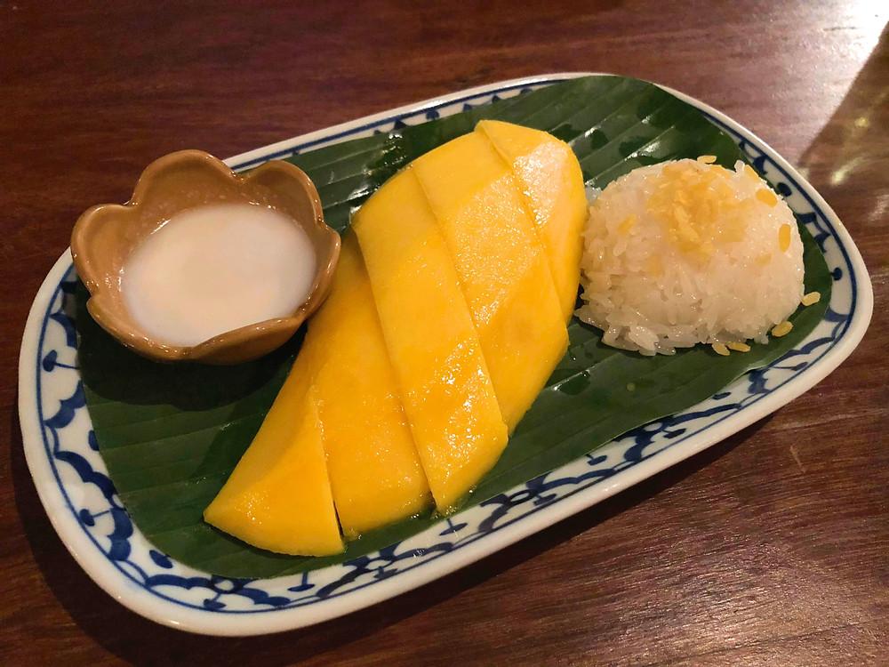 A must in Bangkok: Mango sticky rice