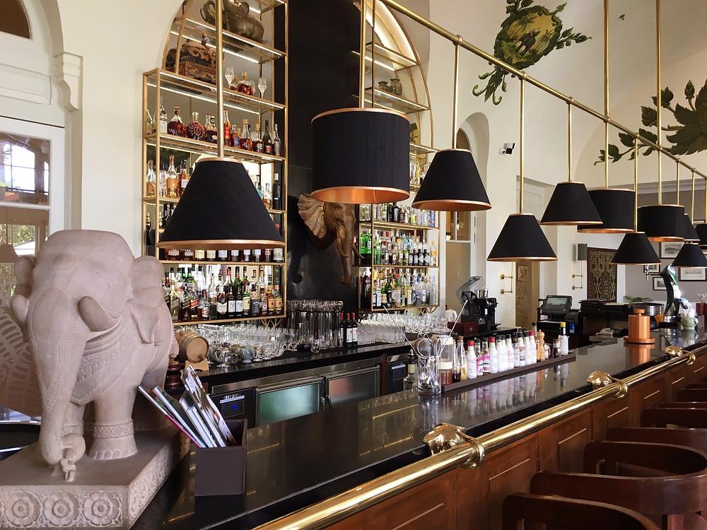 The Elephant Bar at Raffles Hotel Le Royal