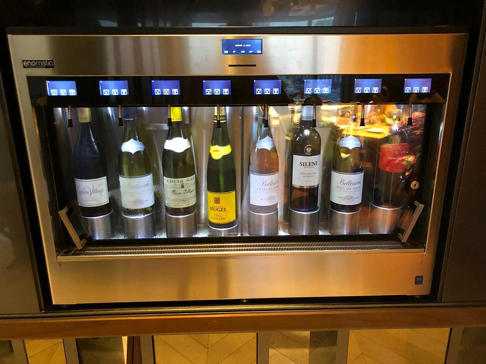 Club Millésime Lounge - The famed self-service wine bar