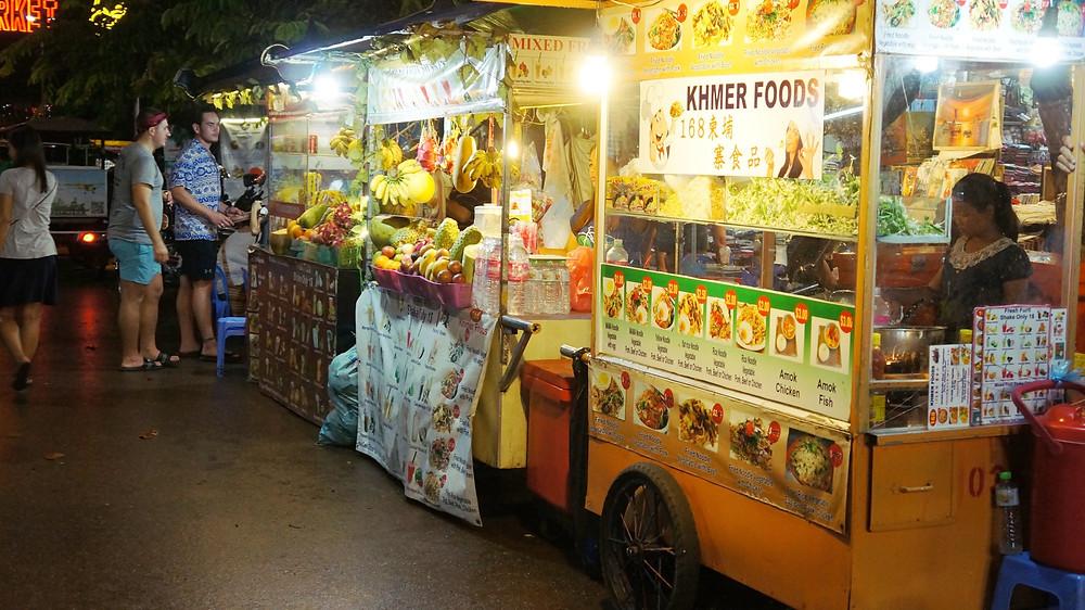 Food stalls at Pub Street