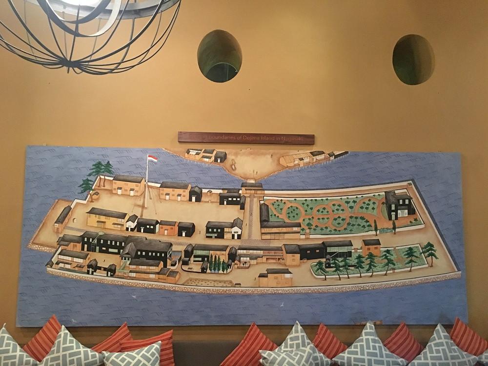 Japanese art within Ikoi Tei