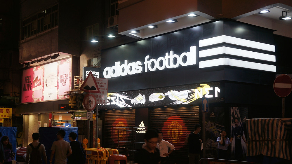 It is quite clear football is a thing at Sneakers Street