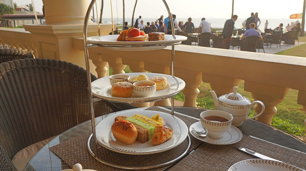 Afternoon Tea set at Galle Face Hotel