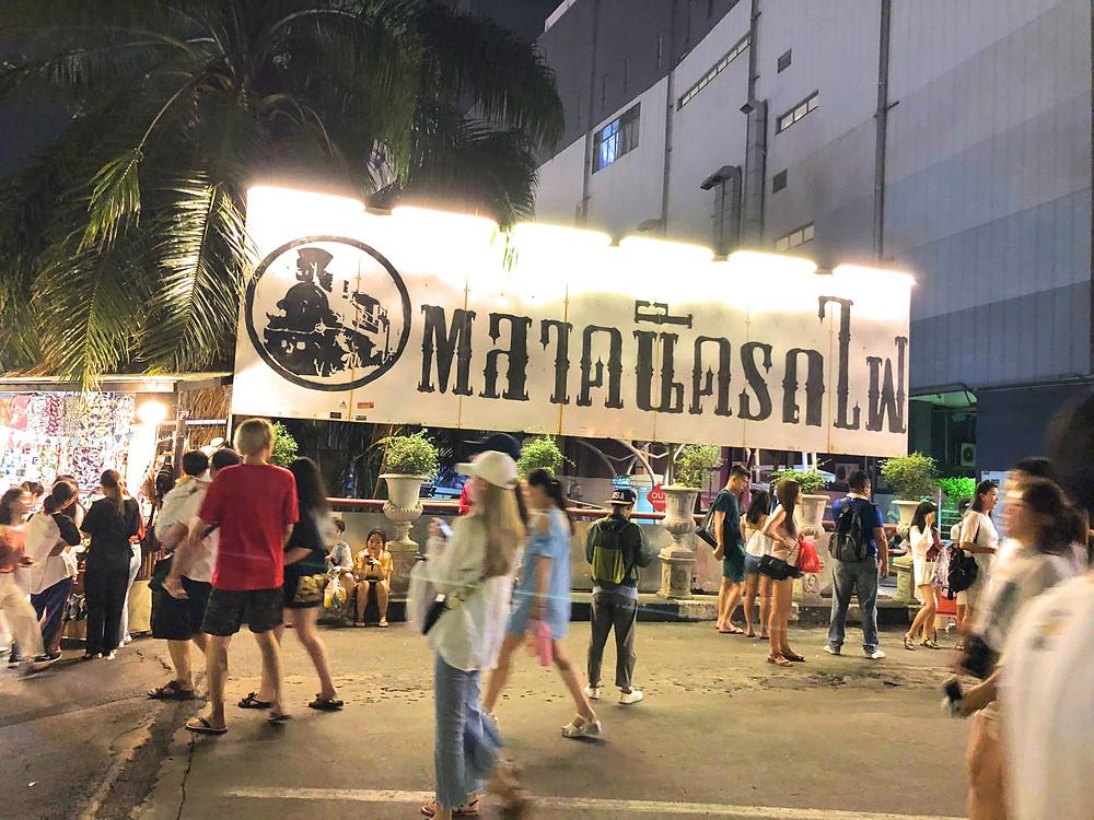 Entrance of Rod Fai Night Market