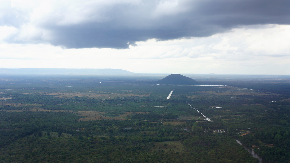 Flying off from Siem Reap Airport
