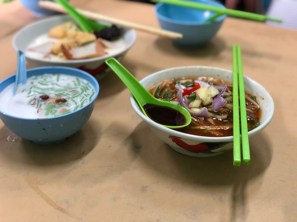 Enjoy some local delights together with your bowl of chendol