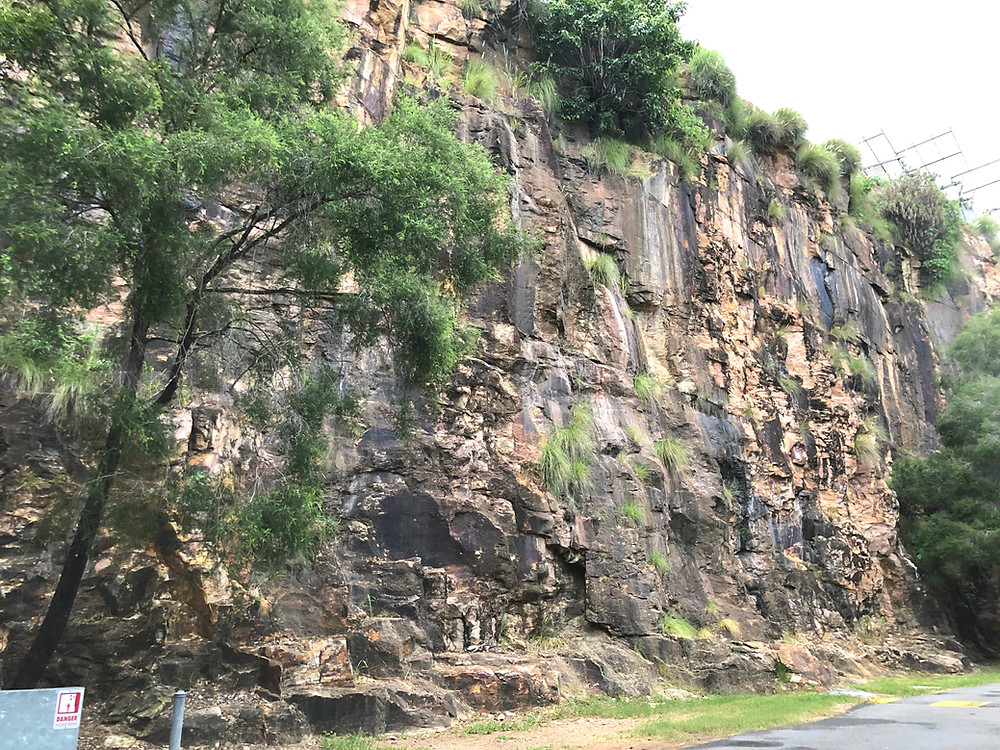 The famous cliffs at Kangaroo Point Cliffs Park