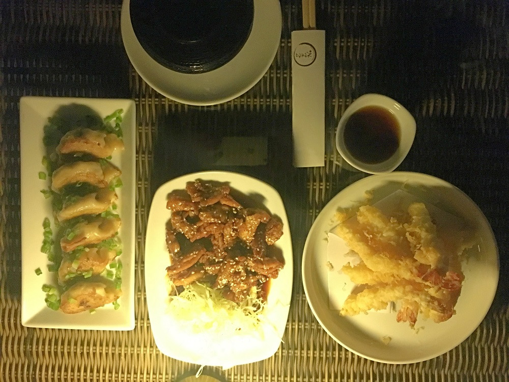 Delicious selection of Japanese fare at Zen Restaurant