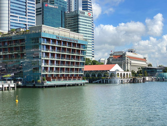 Hotel Review: The Fullerton Bay Hotel (Premier Bay View Room)