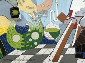 """Mural en Mosaico """"Presencia e Identidad"""""""