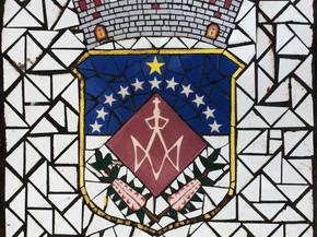 """Escudo de Moca en Mosaico 18"""" x 18"""""""