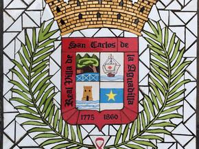 """Escudo de Aguadilla en Mosaico 18"""" x 18"""""""