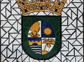 """Escudo de Orocovis en Mosaico 18"""" x 18"""""""