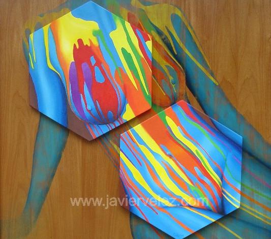 Cascada Hexagonal al Ritmo Femenino