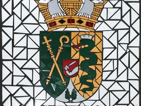 """Escudo de Culebra en Mosaico 18"""" x 18"""""""
