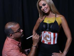 Bodypainting Premios Juventud 2014.