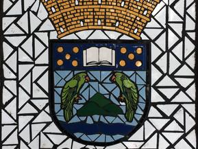 """Escudo de Río Grande en Mosaico 18"""" x 18"""""""