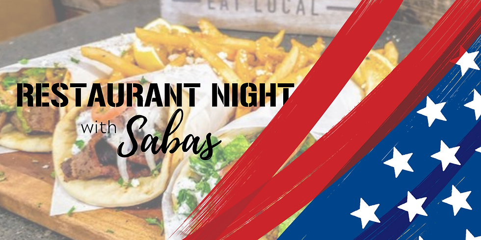Restaurant Nights: Sabas Mediterranean Kitchen