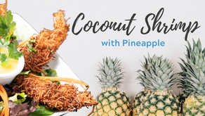 Coconut Crusted Shrimp with Pineapple
