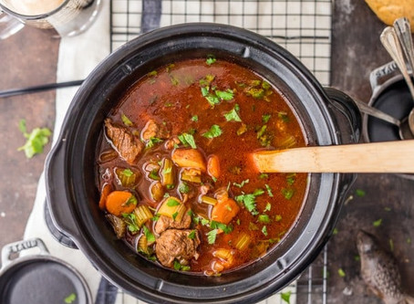 IRISH GUINNESS BEEF STEW (Slow Cooker or Instant Pot)