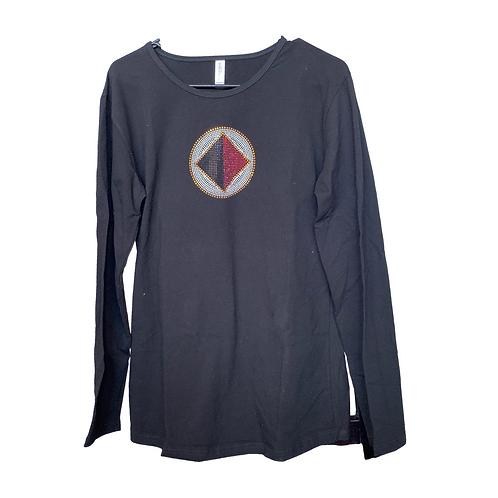 Jeweled T-Shirt Long Sleeve