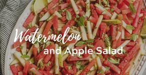 Watermelon and Apple Salad